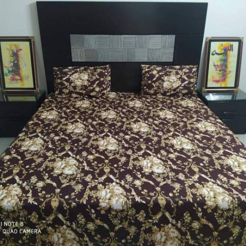 Brown Golden Crystal Bedding