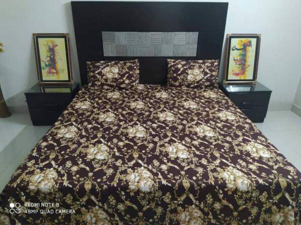 Brown Golden Crystal Bedding