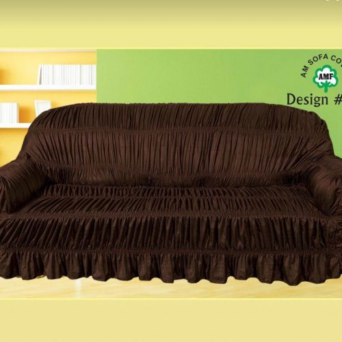 Dark Brown Sofa Cover