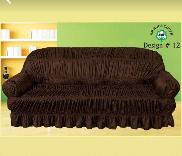 Dark Brown Sofa Cover