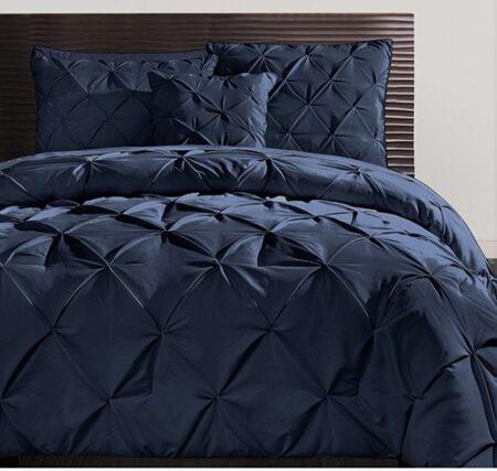 Diamond Blue Duvet Cover Set 8PCS