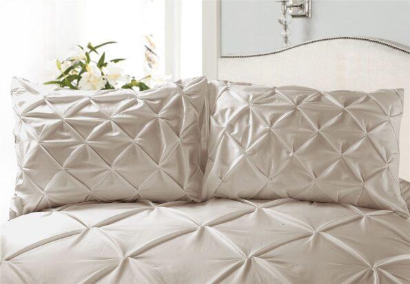 Golden Double Quilt Cover Set 8PCS Design