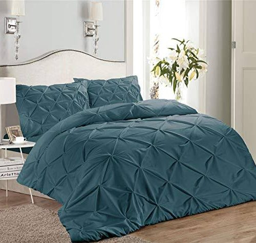 Green Double Quilt Cover Set 8PCS Design