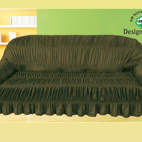 Mehndi Brown Sofa Cover