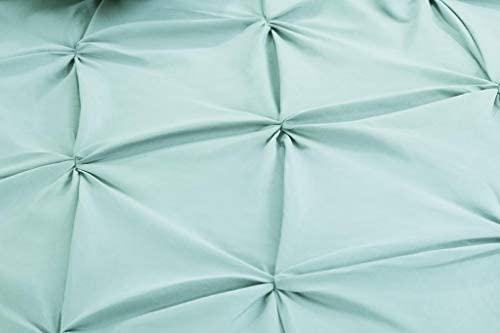 Pastel Blue Double Quilt Cover Set 8PCS Design