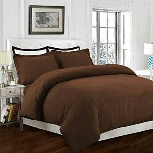Plain Brown Bed Sheets