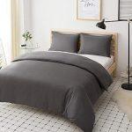 Plain Grey Bed Sheets