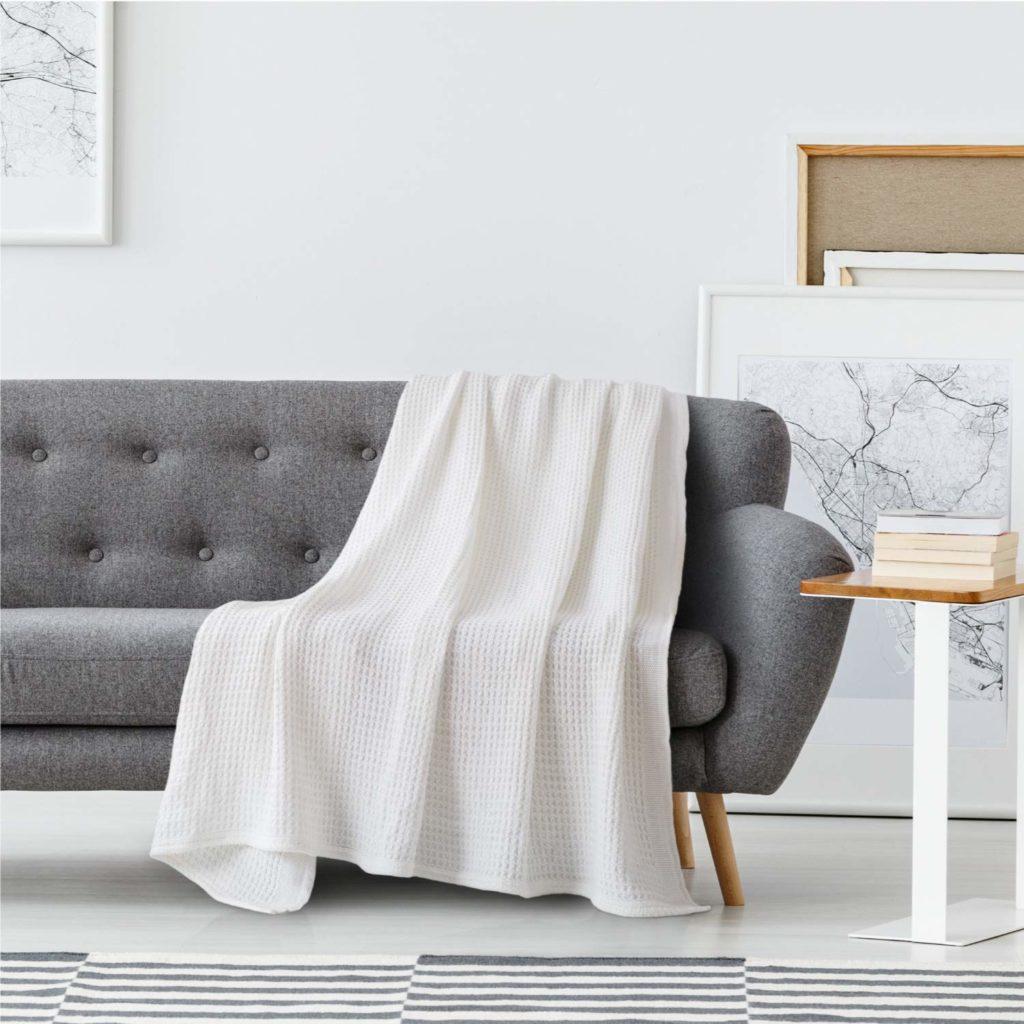 Premium Cotton Thermal Blanket 1