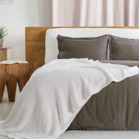 Premium Cotton Thermal Blanket