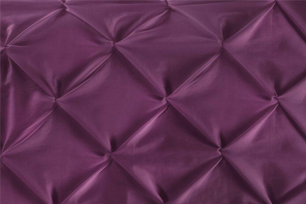 Purple Double Quilt Cover Set 8PCS Design (2)