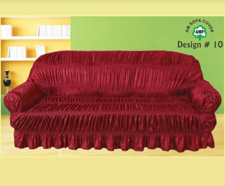 Red Sofa Cover