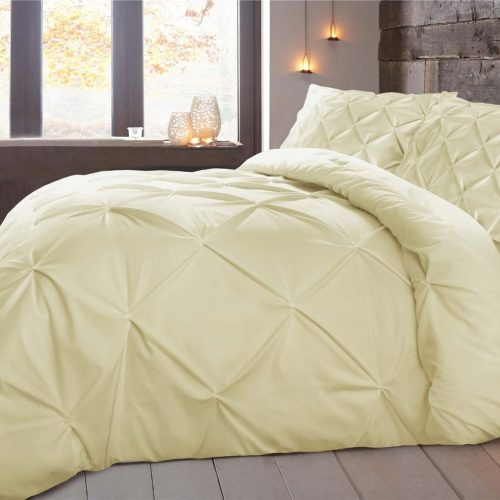 Soft Gold Double Quilt Cover Set 8PCS Design