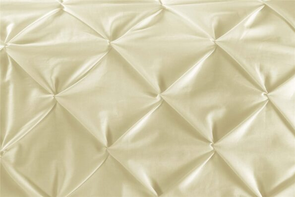 Soft Gold Double Quilt Cover Set 8PCS Design