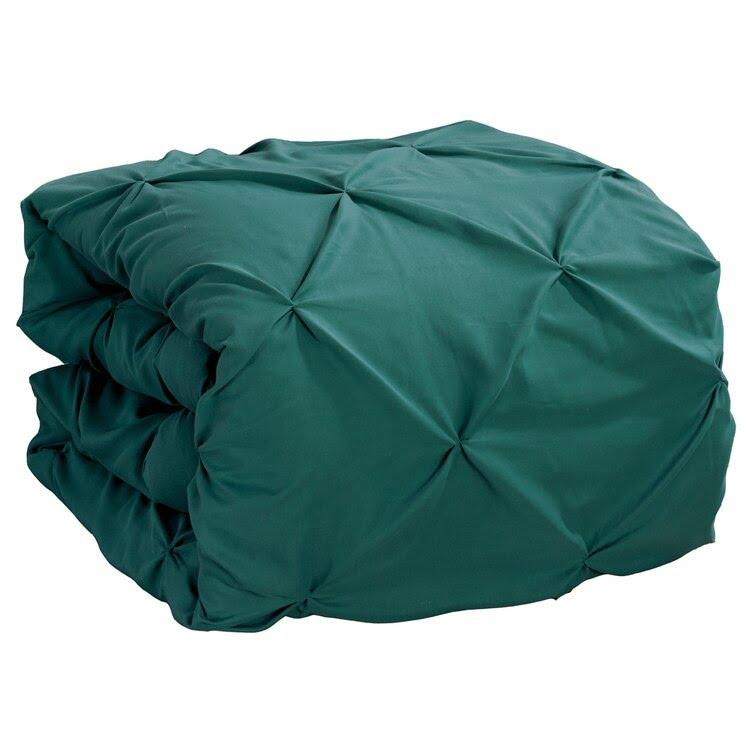Teal Double Quilt Cover Set 8PCS Design (2)