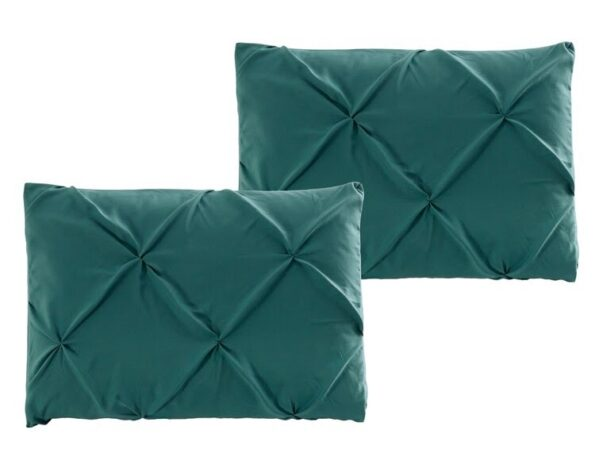Teal Double Quilt Cover Set 8PCS Design (4)