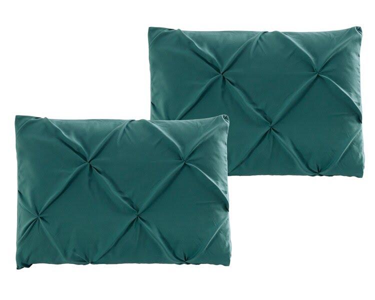 Teal Double Quilt Cover Set 8PCS Design (4)