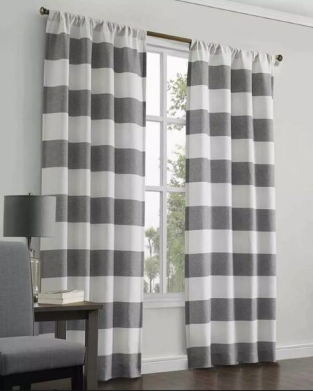 Window & Door Sunshine Box, Dust Proof Blackout Curtains 40X84 ( Set Of 2 Pieces )