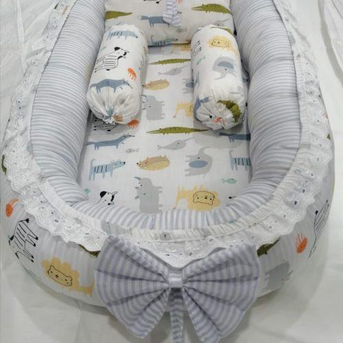 Animals Design Baby Nest - 5 PCS