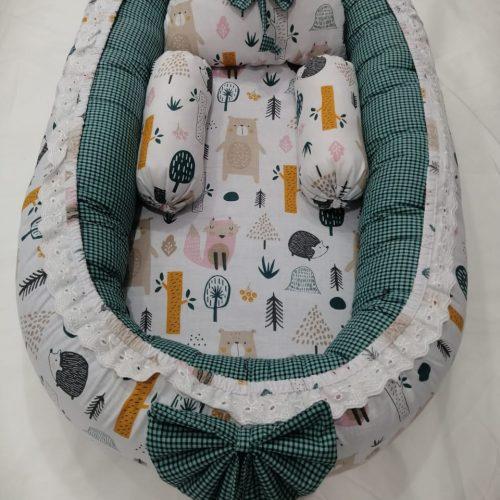 Green Baby Nest - 5 PCS