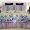 Lining Printed Bed Sheets With 2 Pillow Covers – 3 PCS