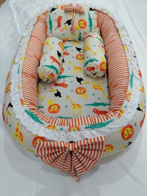 Wild Animals Design Baby Nest - 5 PCS