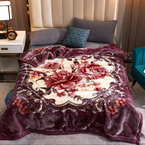 Brown Blossoms Blankets 1