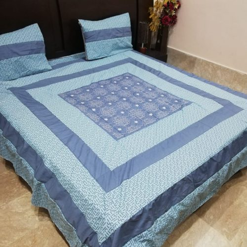Embroidered Printed Sheet
