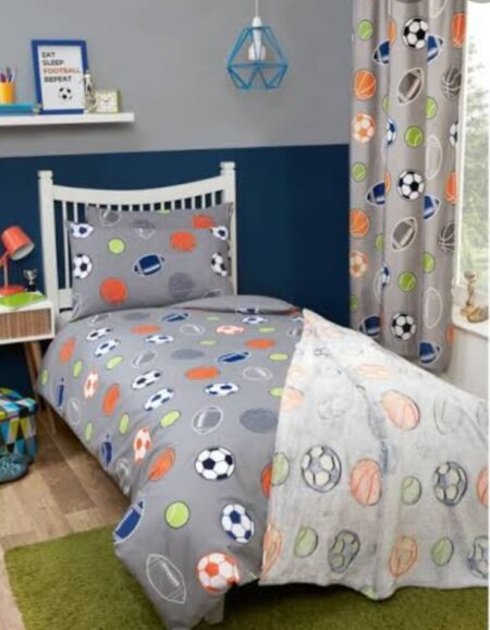 Football Bedding With 1 Pillow