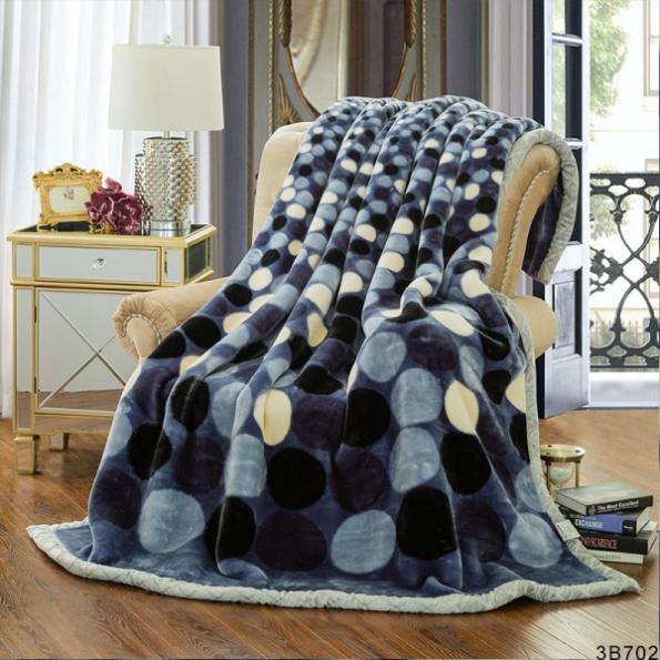 Grey Roundels Blankets 1