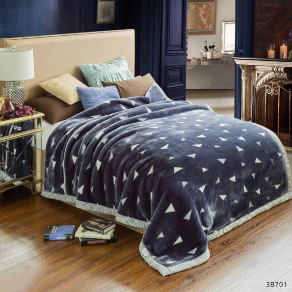 Grey Trigons Blankets