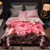 Pink Blossoms Blankets