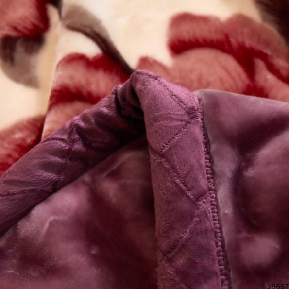 Purple Blossoms Blankets 5