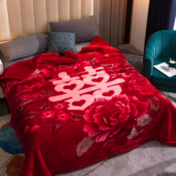 Red Roses Blankets 2