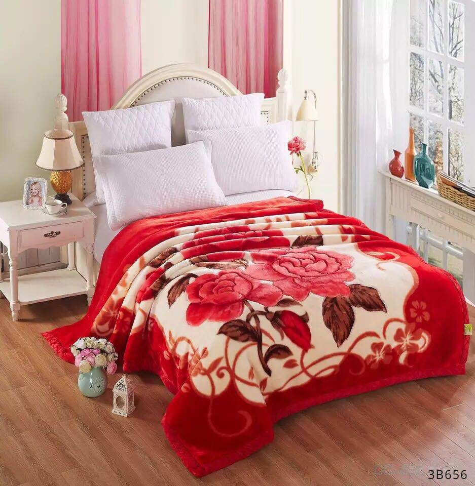 Rosy Blossoms Blankets