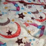 Star Moon Bedding With 1 Pillow (2)