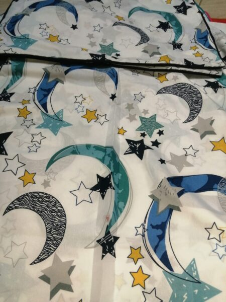 Star Moon Bedding With 1 Pillow