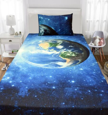World 3D Kids Bedding