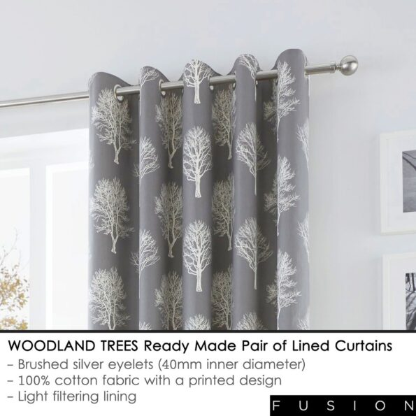 Black White Blackout Curtains 1