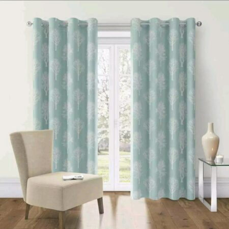 Greenish Blackout Curtains