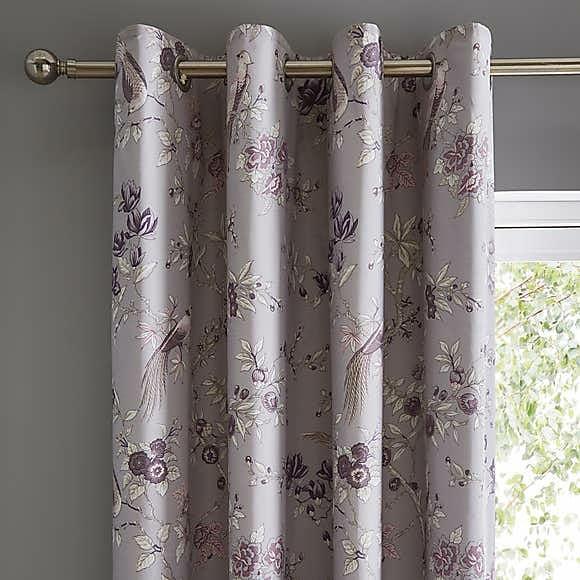 Greyish Blackout Curtains