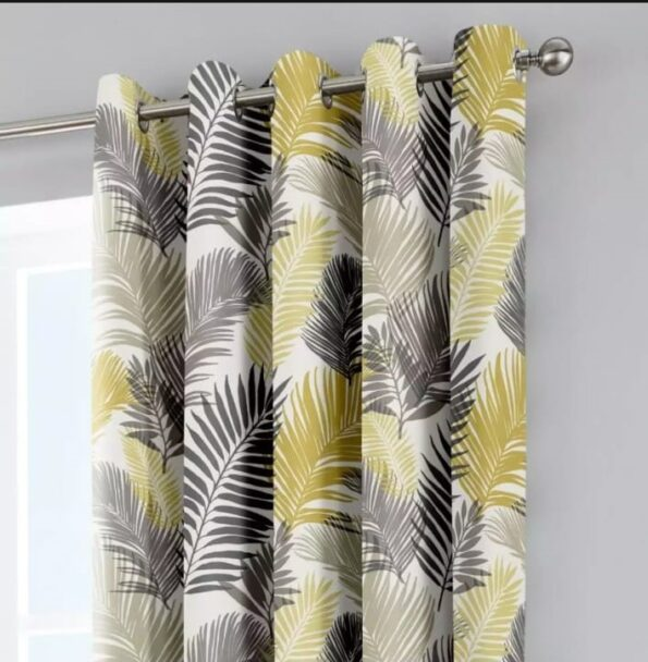 Leaf Blackout Curtains (1)