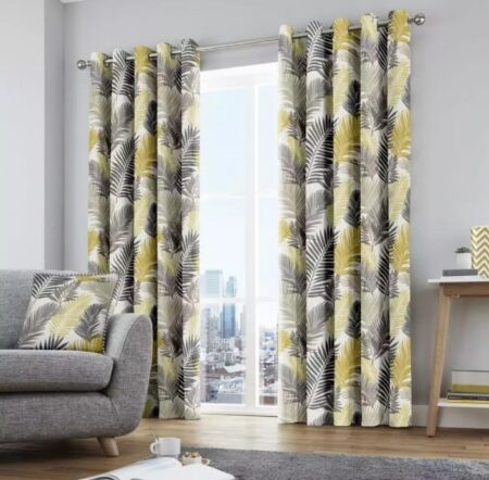 Leaf Blackout Curtains