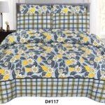 Printed Yellow Leaf Bedding