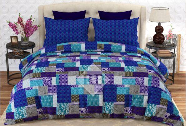 Blue Box Comforter Set ( 6 PCS – 8 PCS )