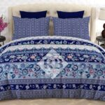 BlueBed Sheet With 2 Pillow Covers – 3 PCS
