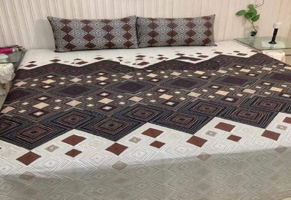 Brown Box Small Comforter Set ( 6 PCS - 8 PCS )
