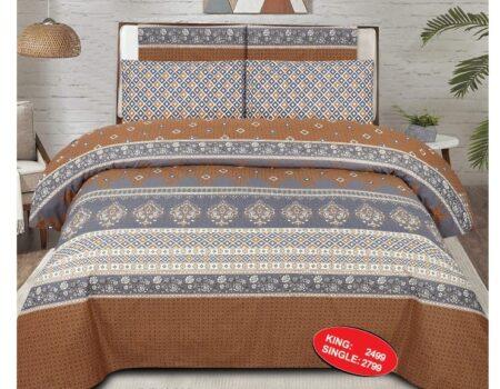 Brown Comforter Set ( 6 PCS – 8 PCS )