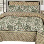 Brown linning Comforter Set