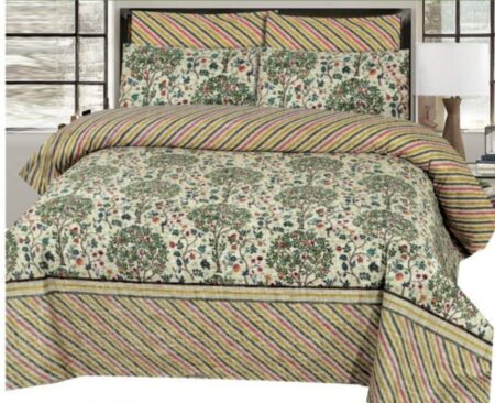 Brown linning Comforter Set
