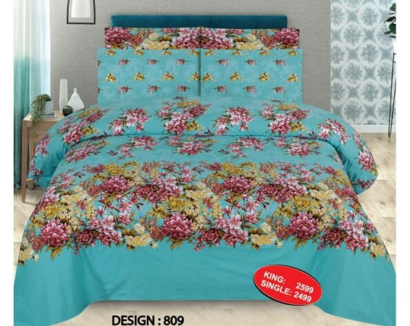Ferozy Print Comforter Set